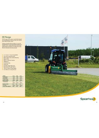QS Flail Mower Series Brochure