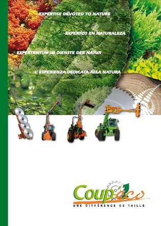 Coup'eco Saw Heads Brochure