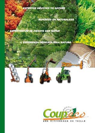 Coup'eco Saw Heads Brochure