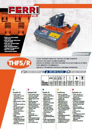 Forestry Mulchers for Tractors & Mini Excavators Brochure