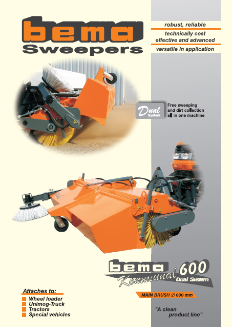 BEMA KOMMUNAL 600 DUAL Brochure