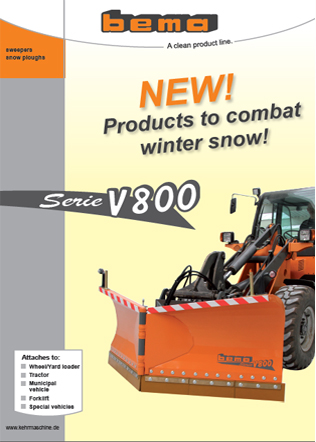V800 Snow Plough Brochure