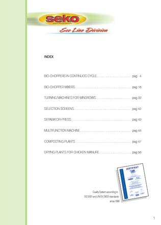 Eco Line Brochure