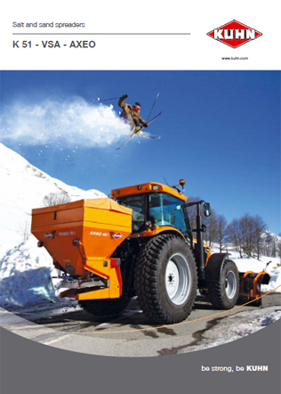 Salt and Sand Spreaders Brochure