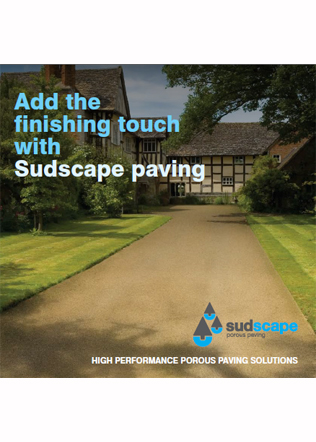 Add the finishing touch with Sudscape paving Brochure