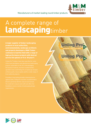 Landscaping timber Brochure