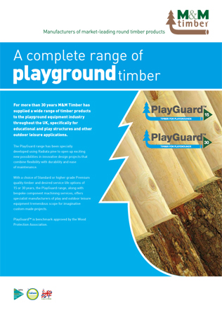 Playground timber Brochure