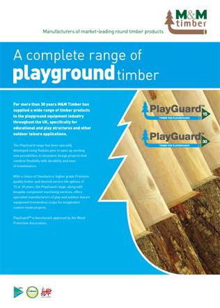 Playground timber Brochure