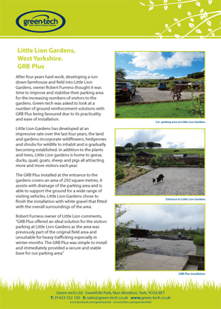 Little Lion Gardens GRB Plus Brochure