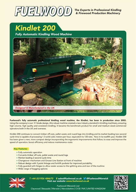 Kindlet 200 Brochure