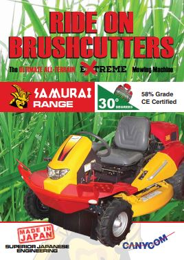 Ride On Brushcutters Brochure
