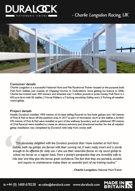Charlie Longsdon Racing- Case Study Brochure
