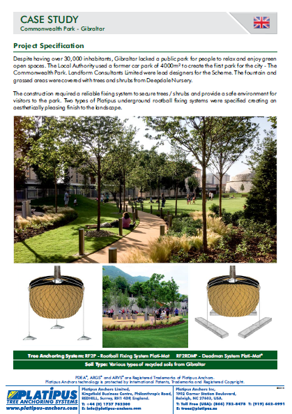 Case Study- Commonwealth Park, Gibraltar Brochure
