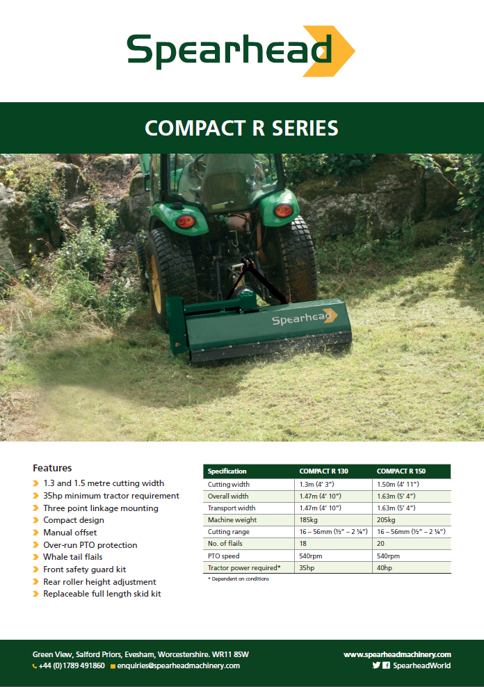 Compact R Series - Infosheet Brochure