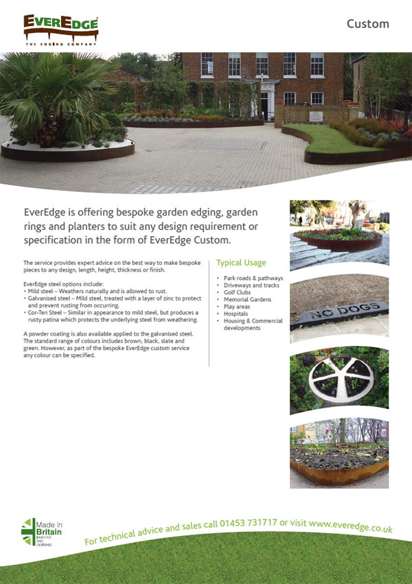 Everedge Custom Brochure
