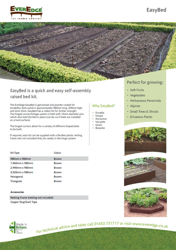 Everedge EasyBed Brochure