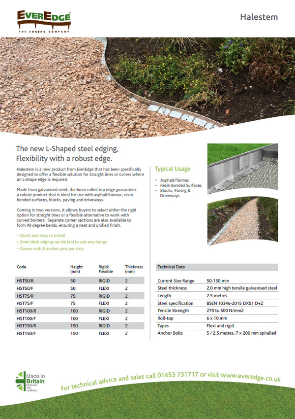 Everedge Halestem Brochure