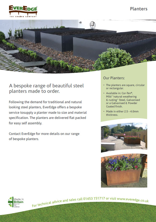 Everedge Planters Brochure