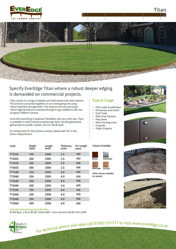Everedge Titan Brochure