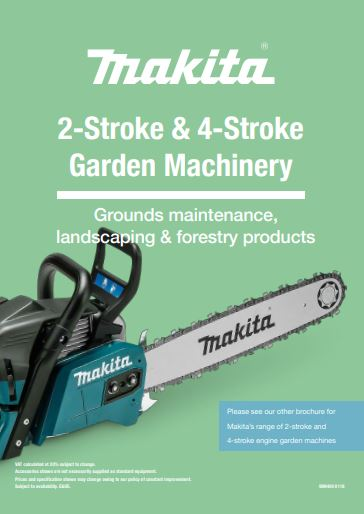 2-Stroke & 4-Stroke Garden Machinery Brochure