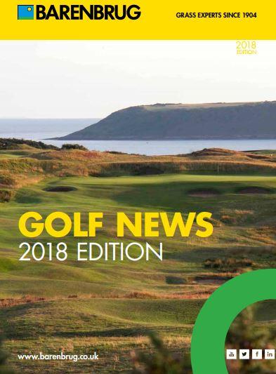 Barenbrug Golf News 2018 Brochure