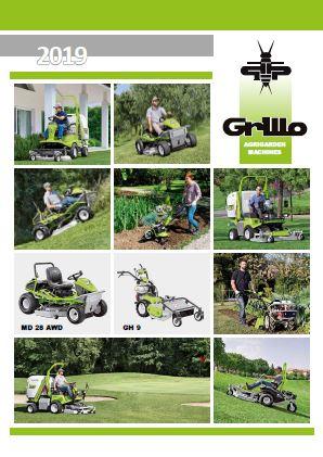 Grillo complete range brochure 2019 Brochure