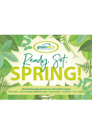 Ready. Set. Spring with Green-tech Brochure