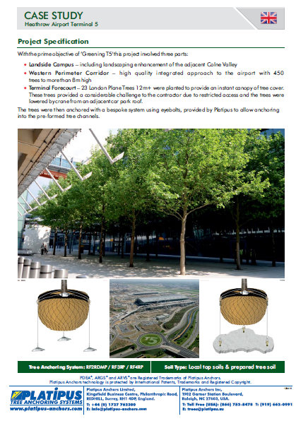 Case Study - Heathrow Airport T5 Brochure