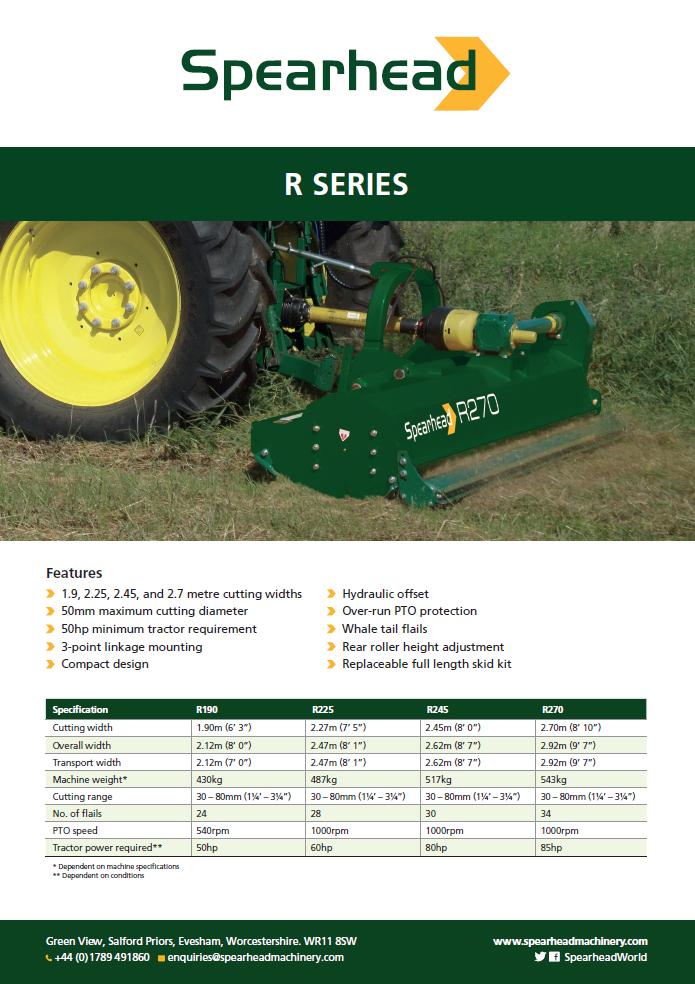 Infosheet - R Series Brochure