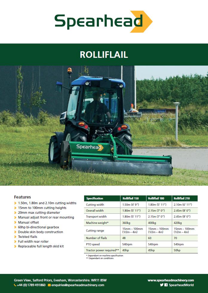 Rolliflail - Infosheet Brochure