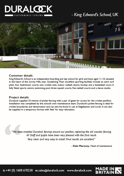 King Edward's School- Case Study Brochure