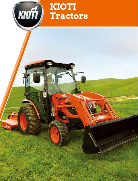 Kioti Tractors Brochure