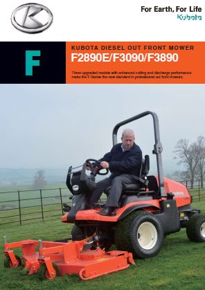 KUBOTA DIESEL OUT FRONT MOWER Brochure