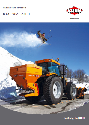 KUHN Salt & Sand Spreaders  Brochure