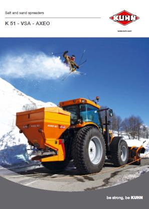 KUHN Salt & Sand Spreaders  Brochure