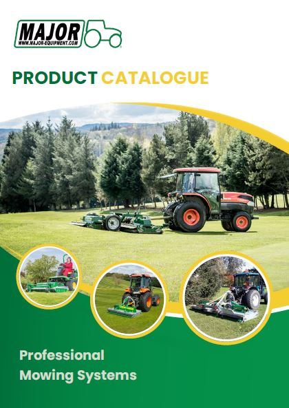 Professional Mowing Systems product catalogue  Brochure