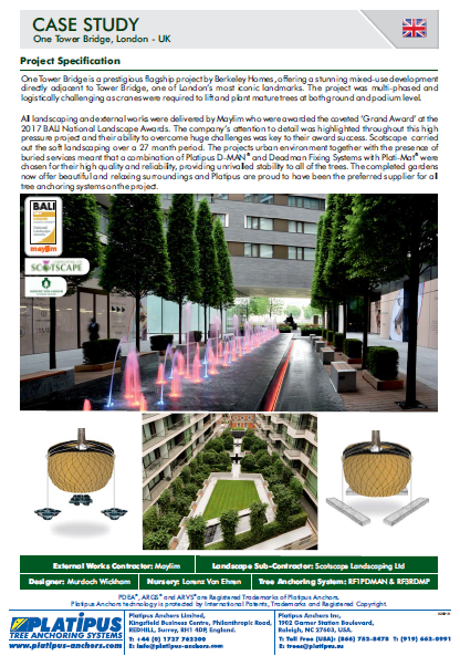 Case Study- One Tower Bridge, London Brochure