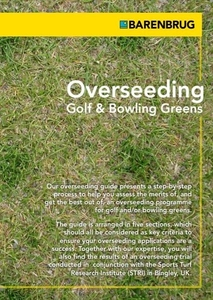 Overseeding- Golf and Bowling Greens Brochure