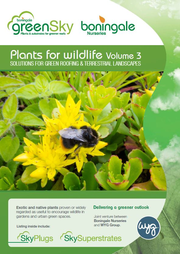 GreenSky - Plants for wildlife Volume 3 Brochure