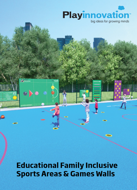 Educational Family Inclusive Sports Areas & Games Walls Brochure
