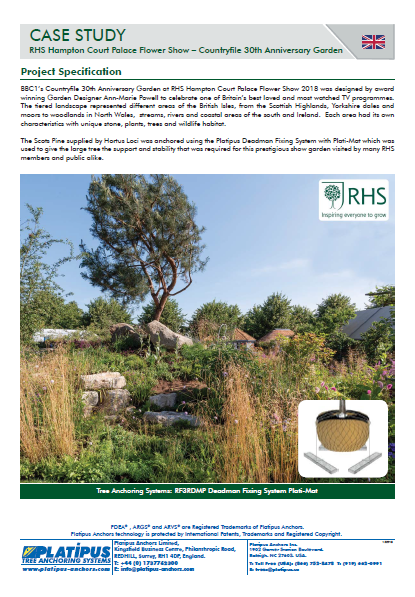 Case Study- RHS Hampton Court, UK Brochure