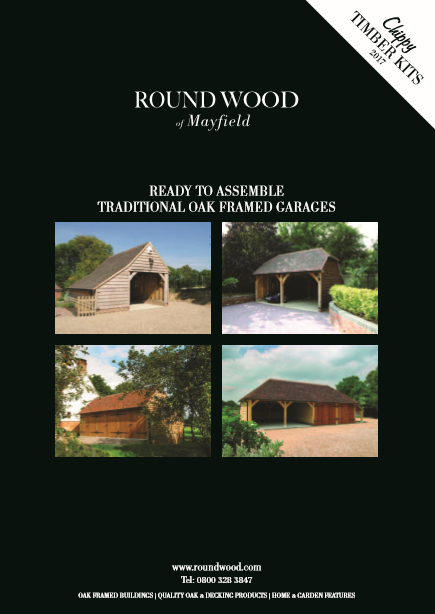 Round Wood Chippy Timber Kits Brochure