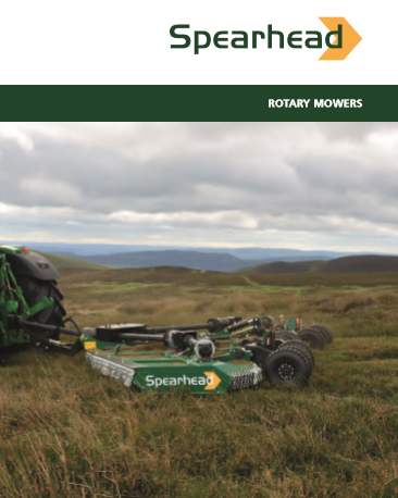 Spearhead Rotary Mowers Brochure