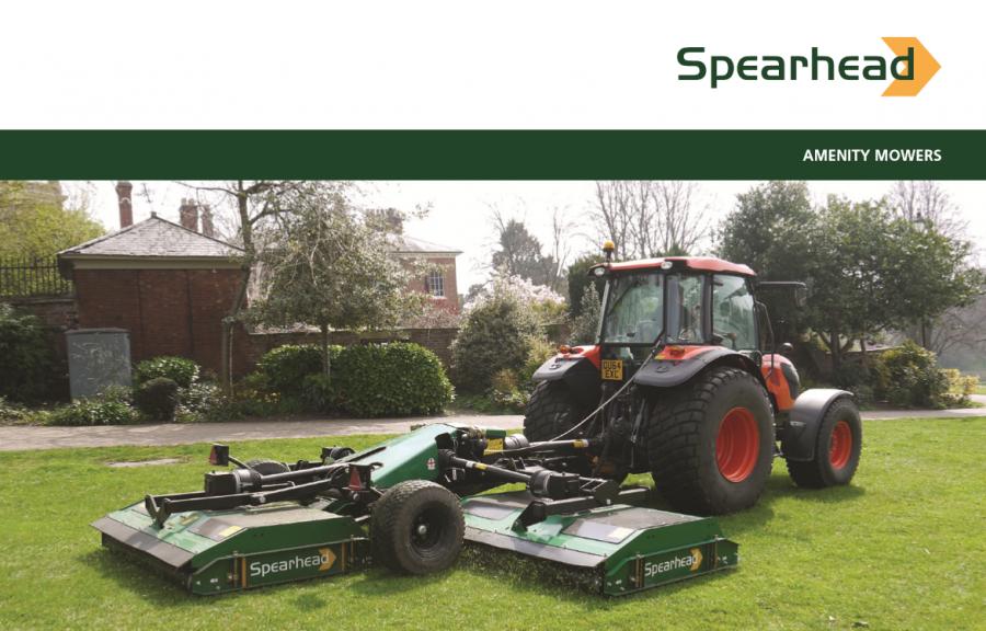 Spearhead Amenity Mowers Brochure