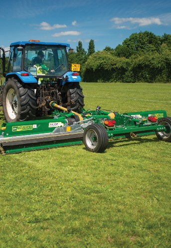 Swift trailed roller mower  Brochure