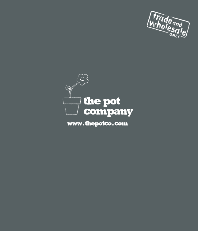 The Pot Company Trade Brochure Brochure
