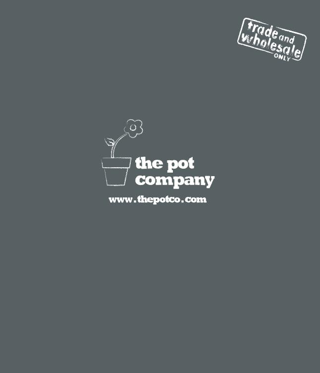 The Pot Company Trade Brochure Brochure