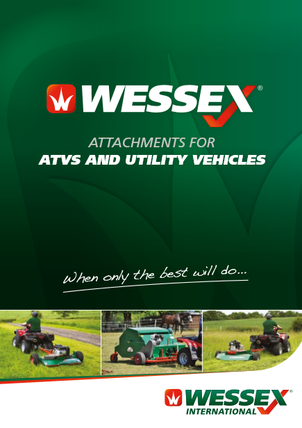 Wessex- Attachments for ATVs and utility vehicles Brochure