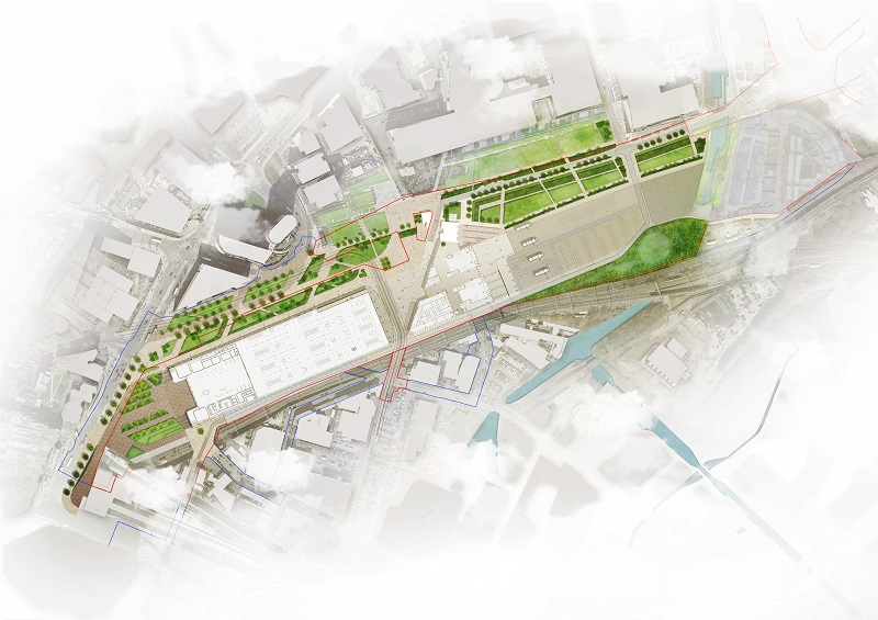 HS2 station features urban realm design by Grant Associates
