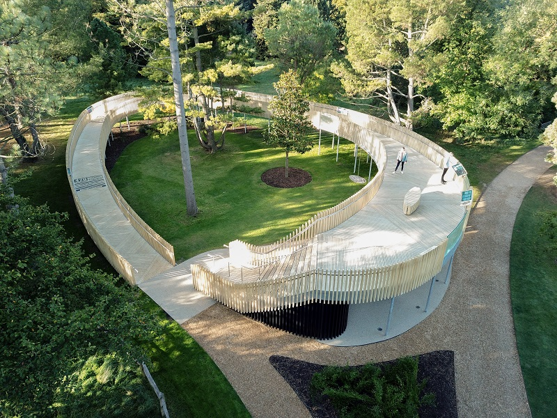 Accoya selected for unique botanic gardens project
